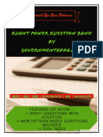 Quant Power Question Bank By Governmentadda.com.pdf