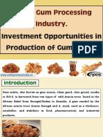 Arabic Gum Processing Industry