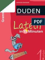 Duden Latein in 15 Minuten - Grammatik 1