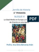CUADERNILLO HISTORIA 6° BLOQUE IV