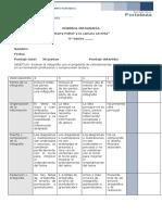 pauta de evaluación 6°A-B Infografía