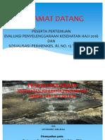Penyelenggaraan Kes Haji Pku 2016