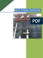 Acta de Visita Torre Gentium