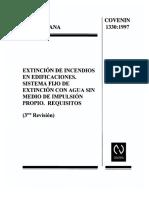 1330-97 INCENDIOS