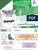 PPT La Importancia de La Herencia. Segundo Medio v2