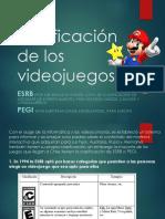 La Clasificación de Los Videojuegos