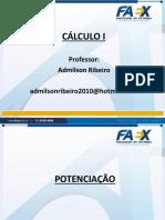 caculo slide 1ª Aula Potenciação.pdf
