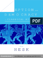 HESK, J (2000), Deception and Democracy in Classical Athens.pdf