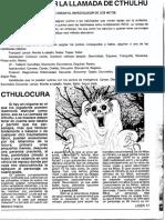 Dossier La LLamada de Cthulhu - LIDER 17 Feb-mar 89