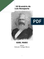 O 18 Brumário de Luís Bonaparte - Karl Marx.pdf