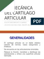 Cartilago y Ligamento 2018