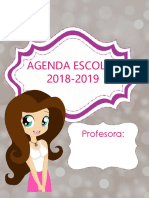 AGENDA Profesora 18-19