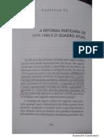 MOTTA, Rodrigo. a Reforma Partidária de 1979-1980 e o Quadro Atual