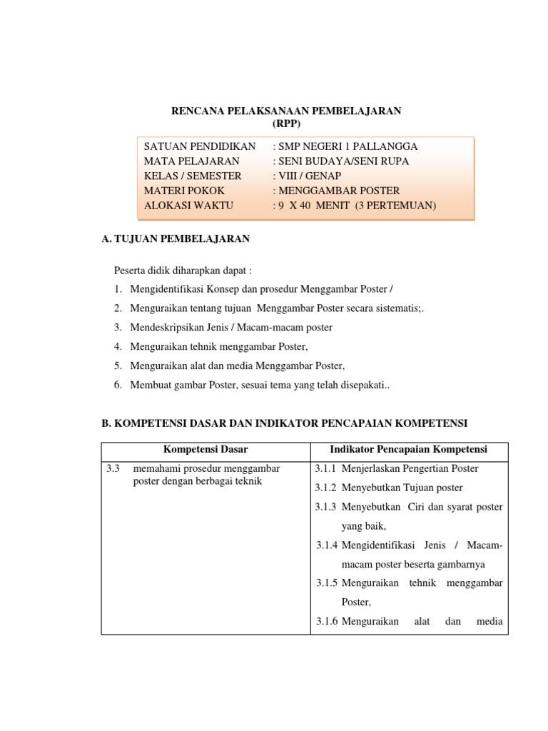 Rpp Standar Docx