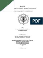 Etiologi Maloklusi Klas i - Ananto Alhasyimi