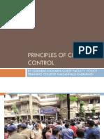 Principles of Crowd Control