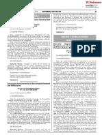 Decreto Supremo que aprueba el Reglamento de la Ley N° 30490 Ley de la Persona Adulta Mayor