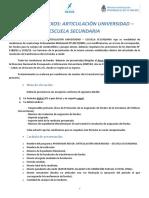 Nexos - Instructivo Rendición de Cuentas