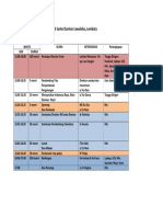 Rundown Bimbingan Akreditasi RSD 1