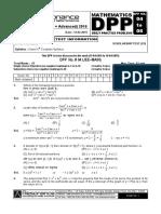XII Maths DPP (02) - Prev Chaps + Statistics.pdf