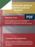 REPRESENTACIÓN GRÁFICA E INTERPRETACIÓN DE PLANOS