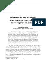 Artola-Euskara Eta Informatika