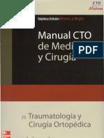 Traumatología y Cirugía Ortopédica (Blanco y negro)