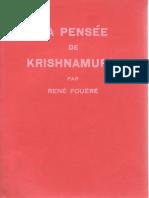 René Fouéré - La Pensée de Krishnamurti