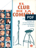 Varios - El Club De La Comedia - Ventajas De Ser Incompetente Y Otros Monologos De Humor.epub
