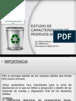 Estudio de Caracterización de Residuos Sólidos