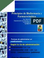 Farmacocinetica y Biofarmacia Clase Inicial
