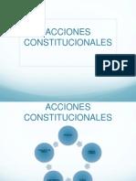 Acciones Constitucionales Uv