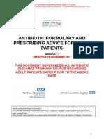 Antibiotics Nhs