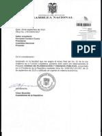 Observaciones al proyecto de Ley:Codigo de Planificacion y Finanzas Publicas