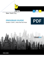 Hadoop World 2010 Program Guide