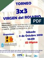 Torneo de basket 3x3 Virgen del Rosario 2010 de A Coruña