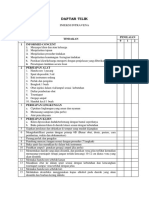 Daftar Tilik Injeksi IV