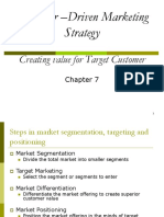 Customer–Driven Marketing Strategy
