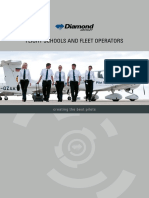 Diamond Aircraft Flight Training Brochure