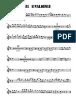 El Sinaloense - Saxofón Alto