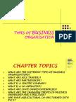 Business Organisation Powerpoint