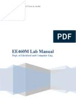 Ee460m Lab Manual
