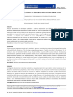 Artigo - O Ensino de Enfermagem Psiquiátrica Nas Universidades Públicas Do Estado Do Rio de Janeiro