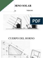 Horno Solar 30 - 60 Planos