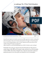 NHL Farm System Rankings_ No. 5 New York Islanders – the Athletic