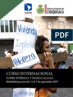 Curso Pobreza Desigualdad
