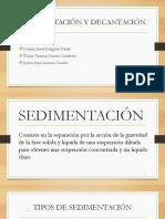 Tema 8 L3 Sedimentacion y Decantacion (Vanesa, Deybin, Junior)