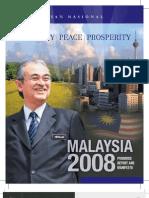 BN english manifesto 2008