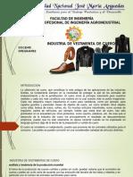 pieles y cueros (industria de vestimentas)