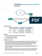 10.1.2.5 Lab - Configure CDP and LLDP.docx
